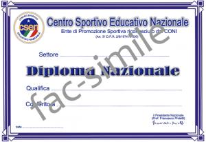 diploma CSEN